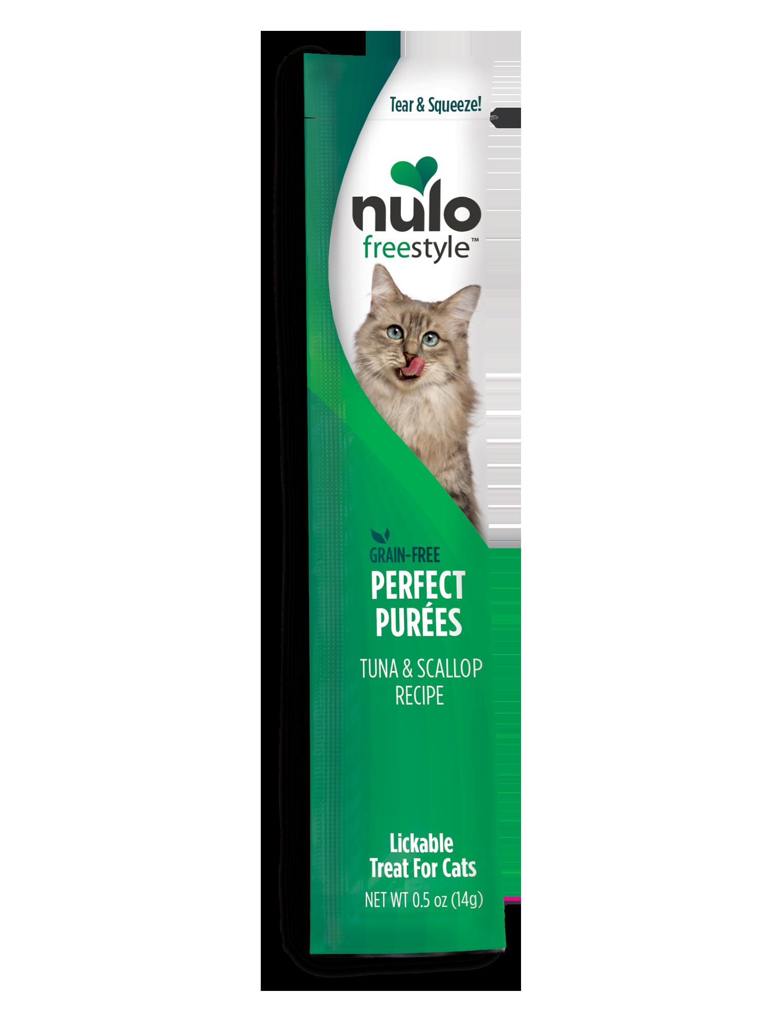 Nulo Nulo Freestyle Perfect Purees Tuna & Scallop Cat Treat 0.5oz