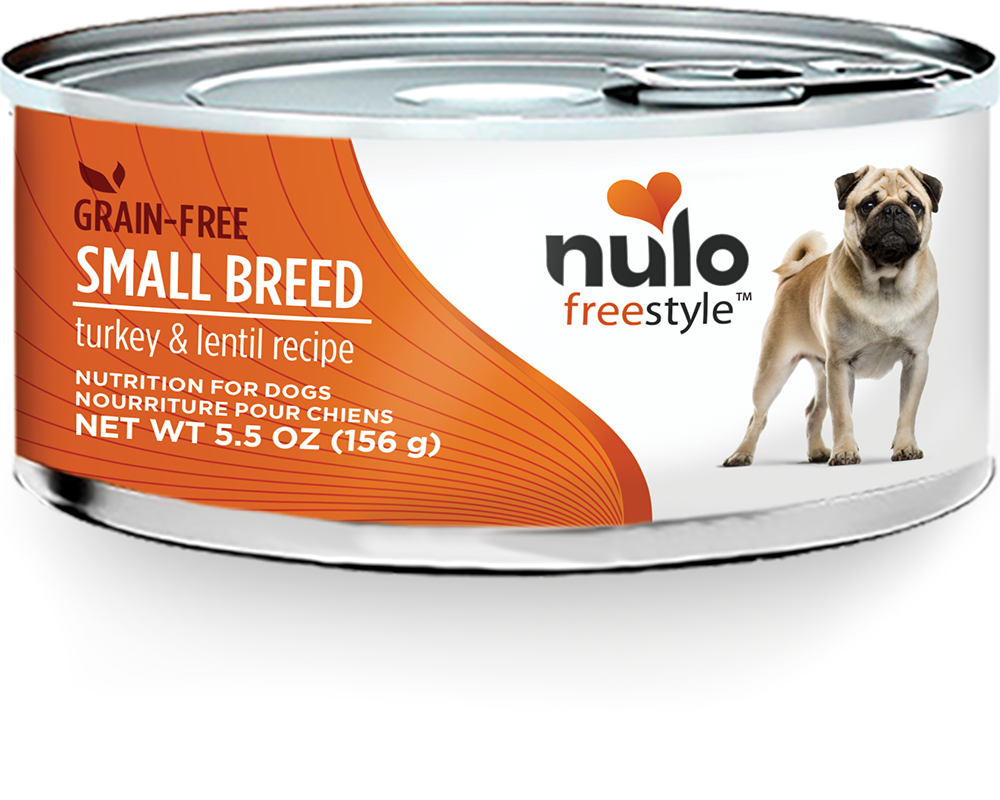 Nulo Nulo Freestyle Small Breed Turkey & Lentils Wet Dog Food 6oz