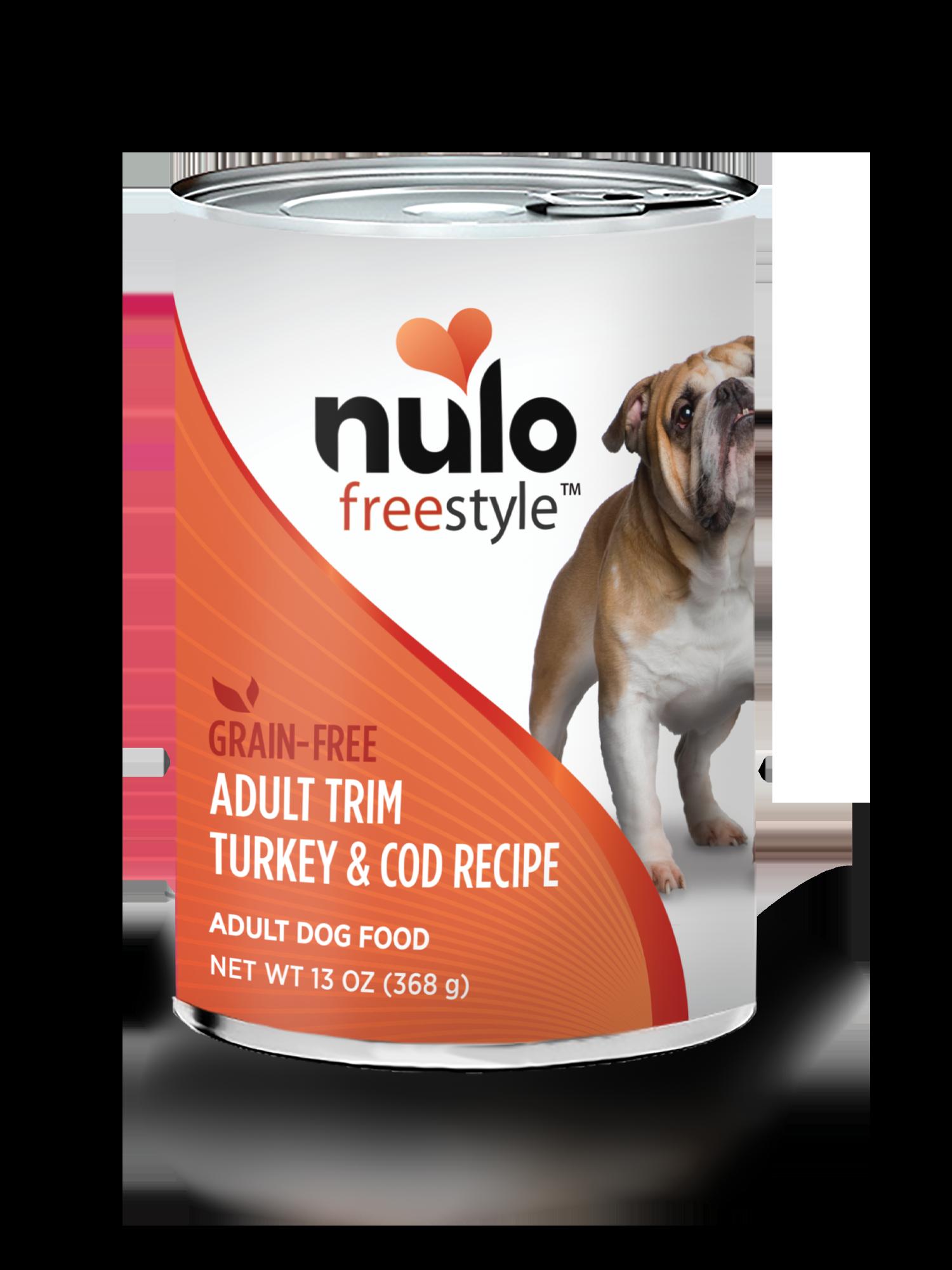 Nulo Nulo Freestyle Adult Trim Turkey & Cod Wet Dog Food 13oz