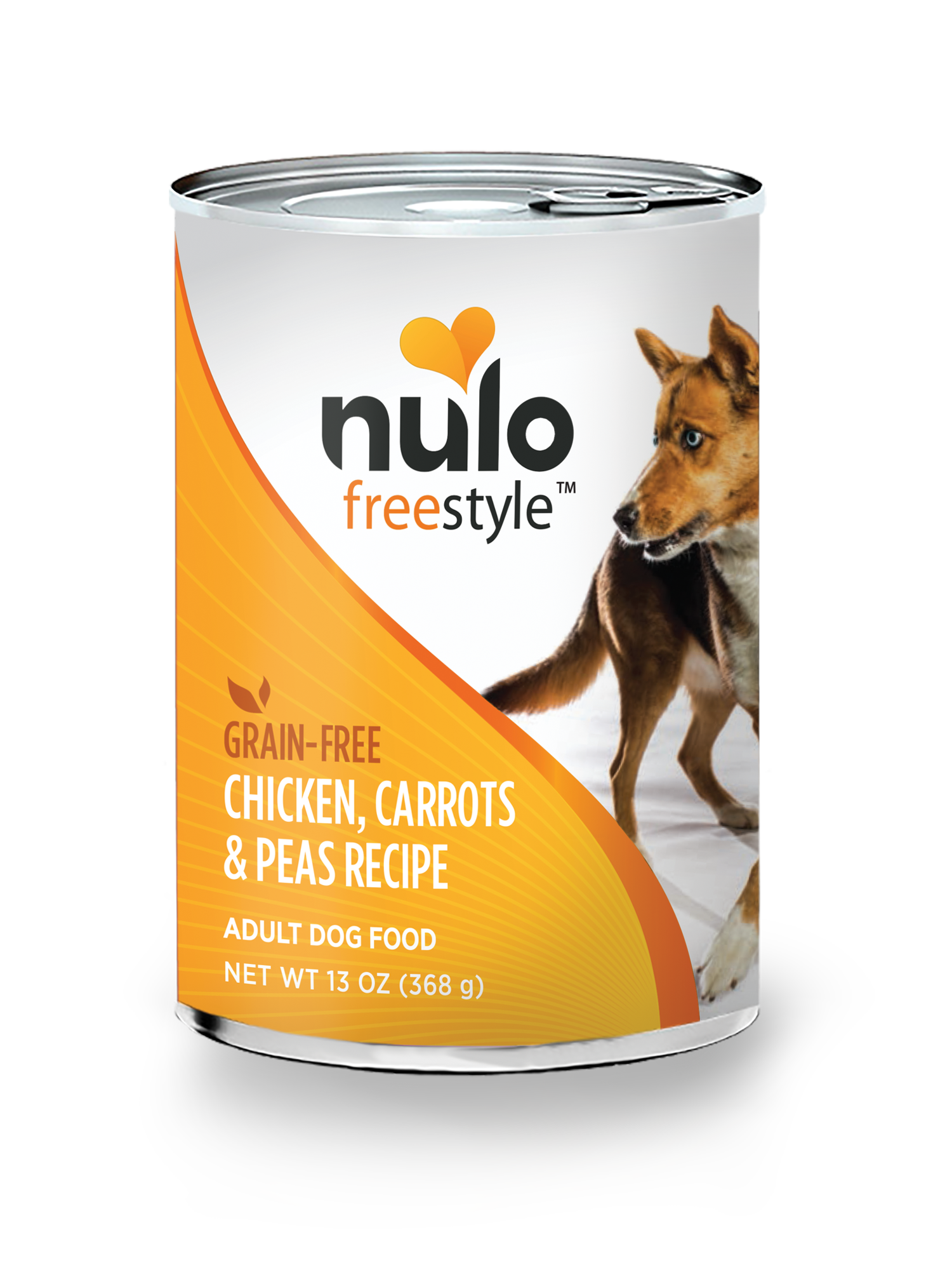 Nulo Nulo Freestyle Adult Chicken, Carrots & Peas Wet Dog Food 13oz