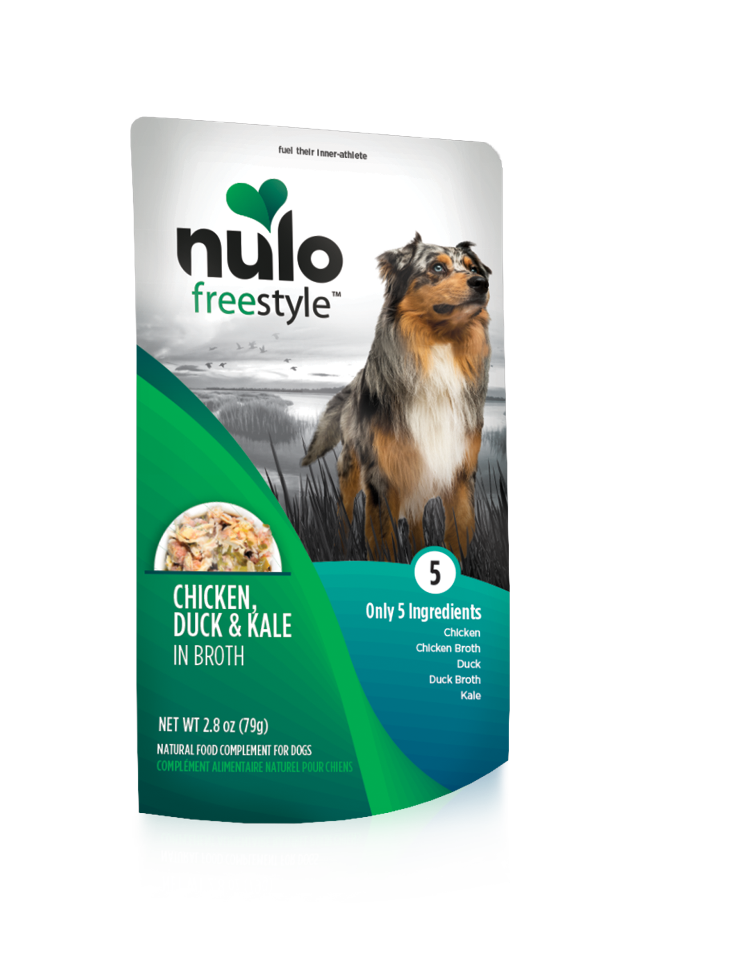 Nulo Nulo Freestyle Pouch Chicken, Duck & Kale Wet Dog Food 2.8oz
