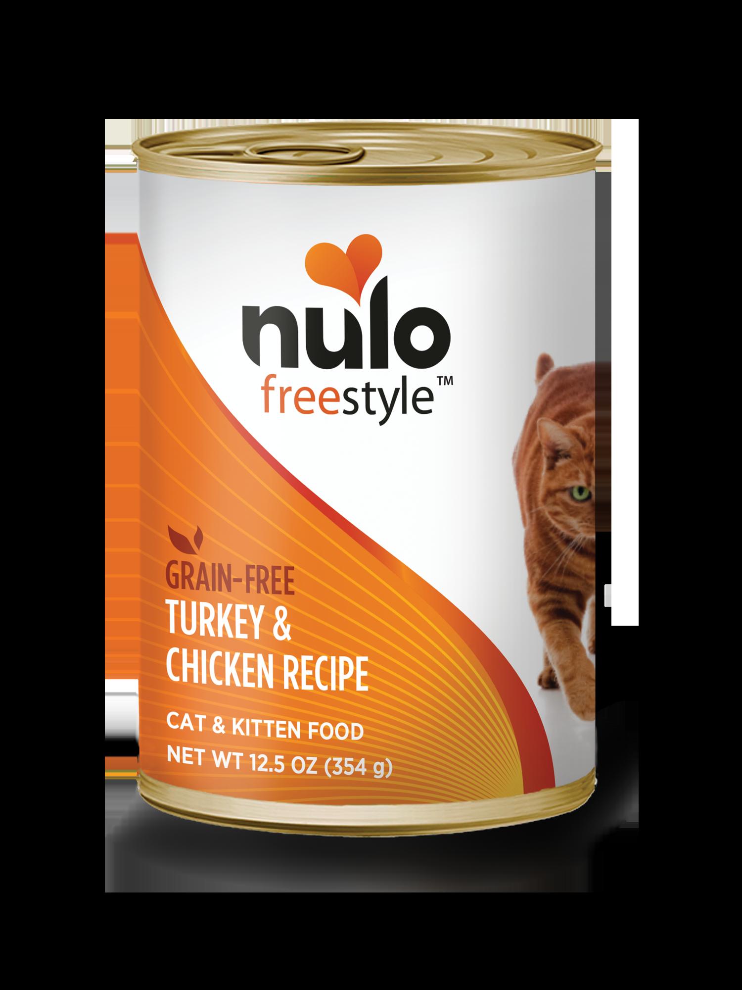Nulo Nulo Freestyle Turkey & Chicken Wet Cat Food