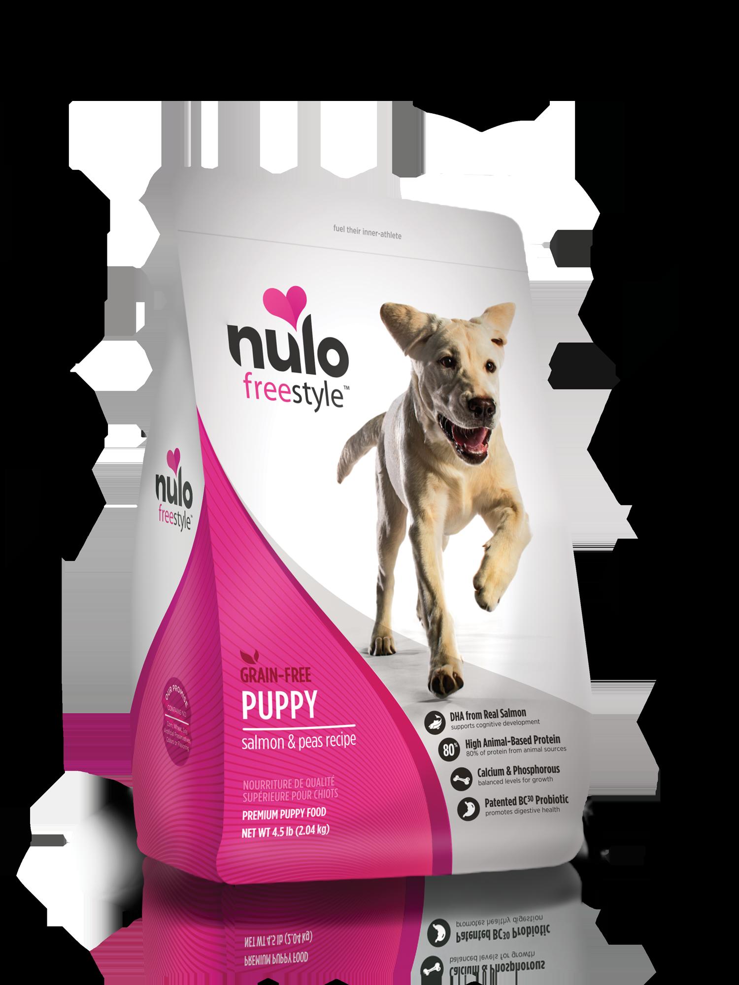 Nulo Nulo Freestyle Puppy Salmon & Peas Dry Dog Food
