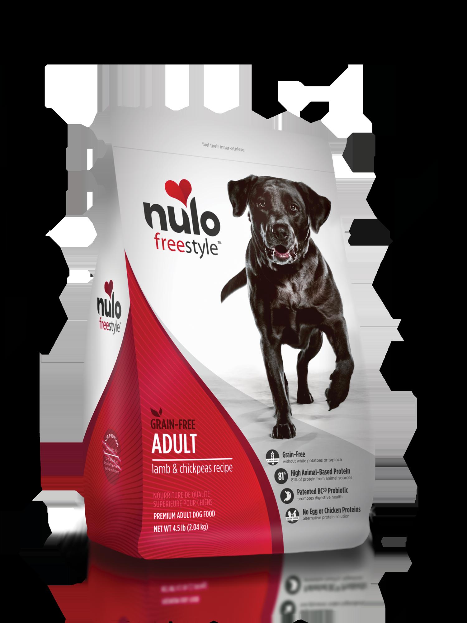Nulo Nulo Freestyle Adult Lamb & Chickpeas Dry Dog Food
