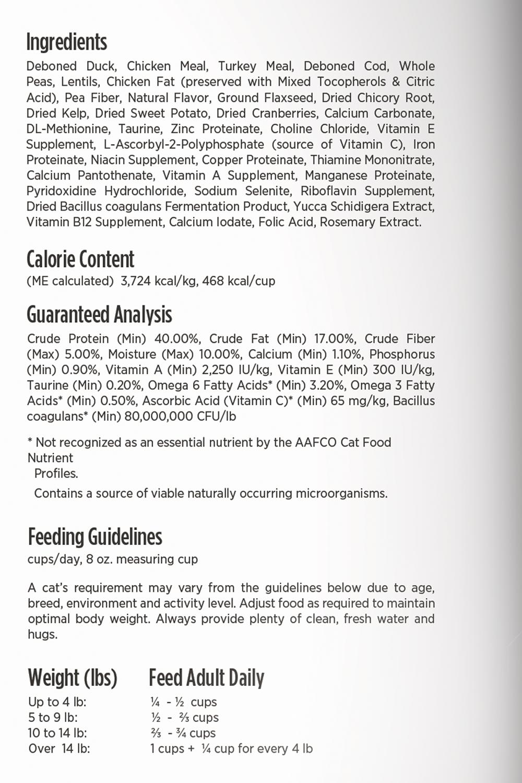 Nulo Nulo Freestyle Indoor Duck & Lentils Dry Cat Food