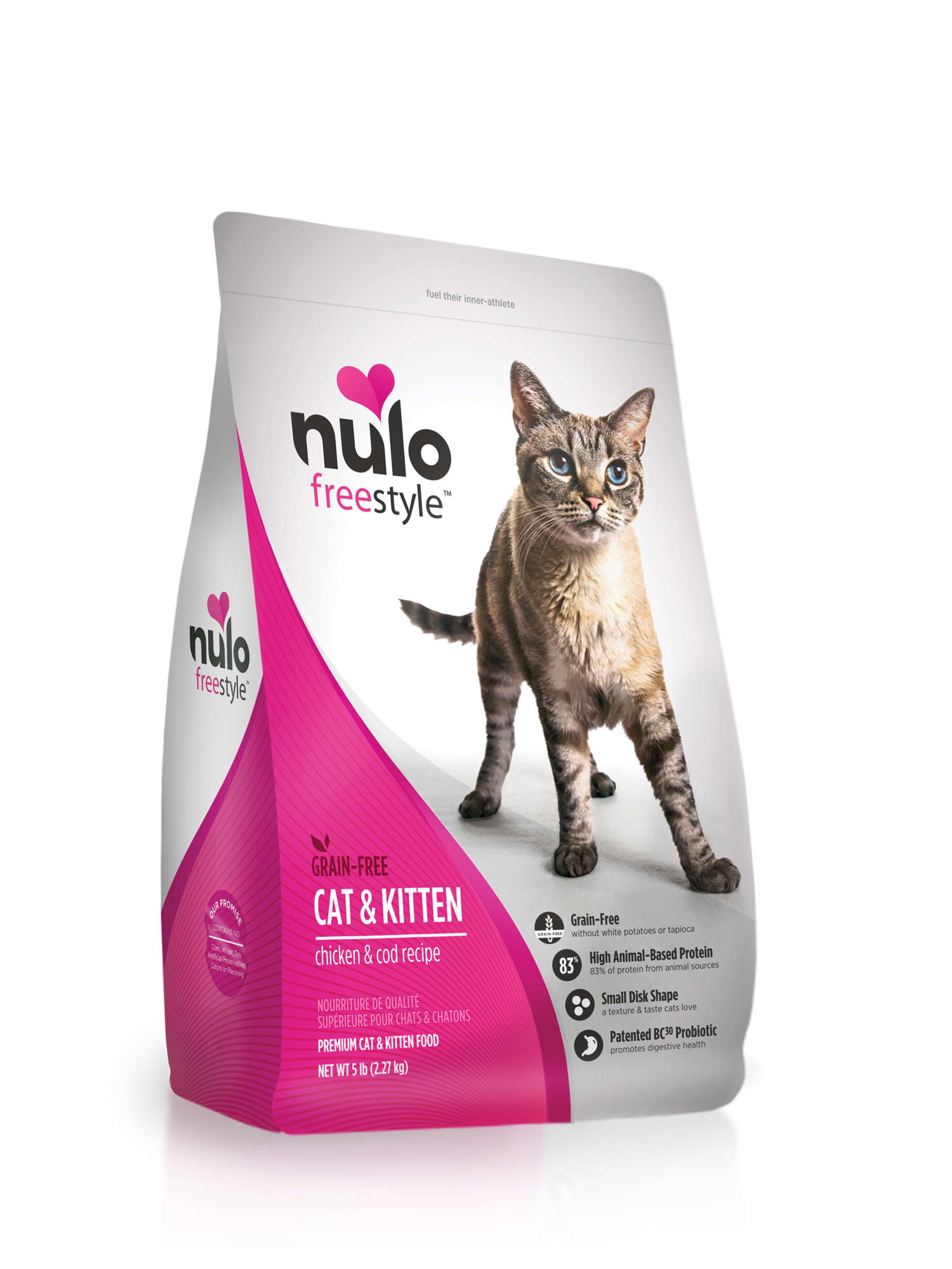 Nulo Nulo Freestyle Chicken & Cod Dry Cat Food