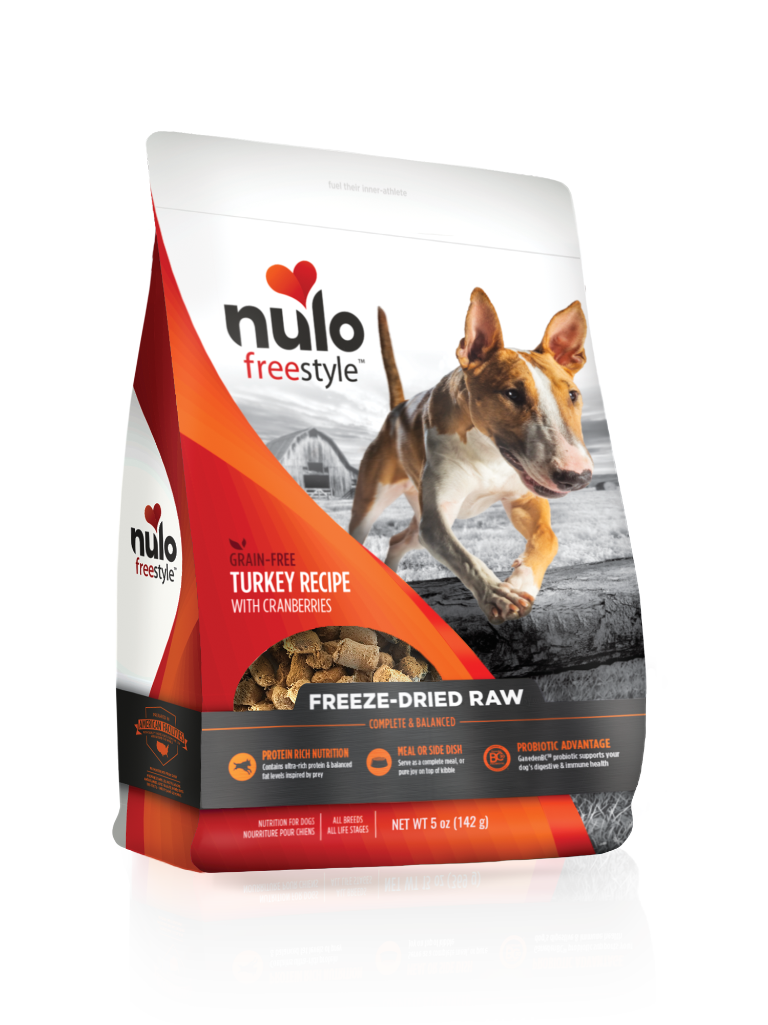 Nulo Nulo Freeze Dried Raw Turkey with Cranberries Dog Food