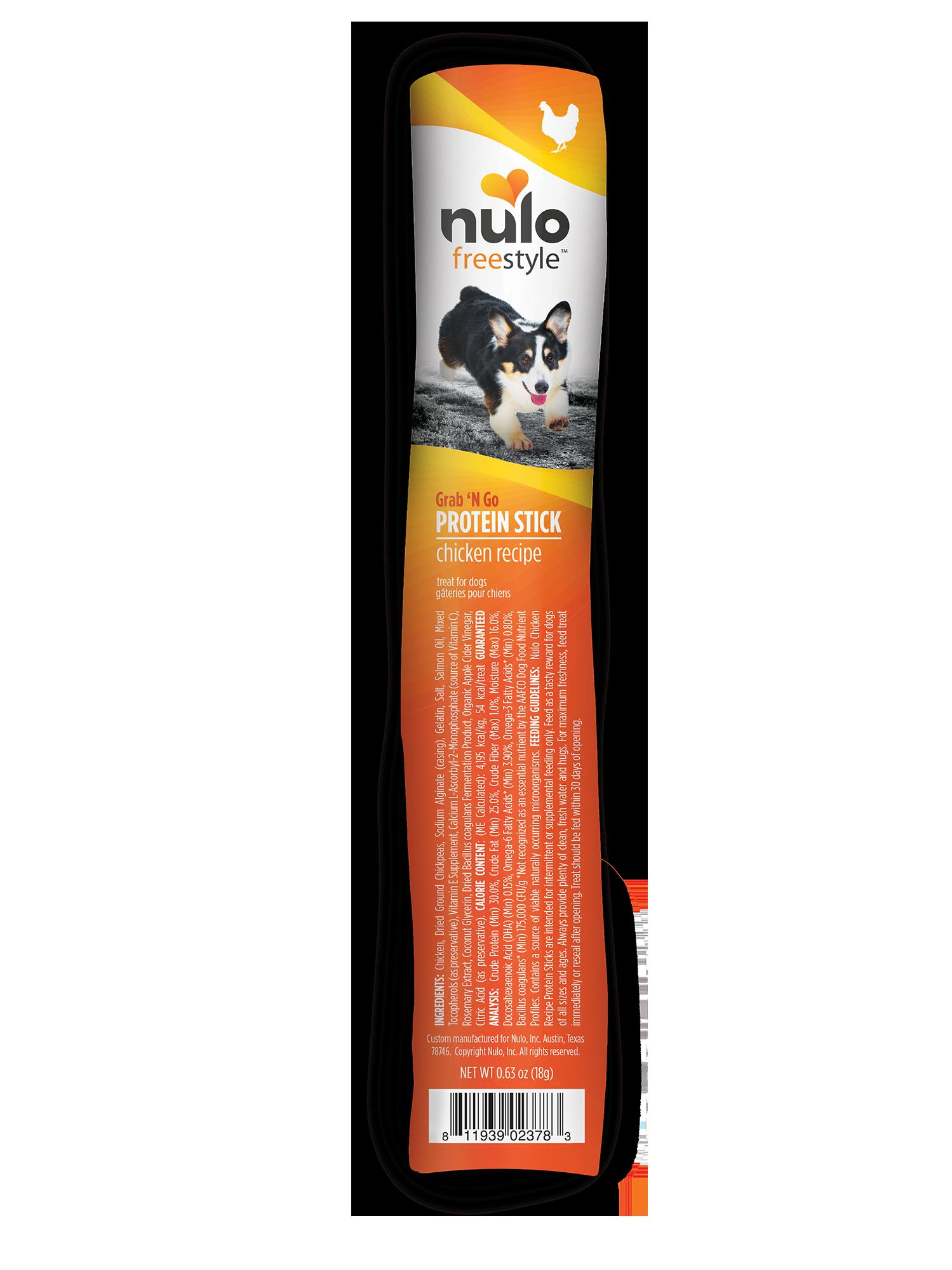 Nulo Nulo Freestyle Protein Sticks Chicken Dog Treat 0.4oz