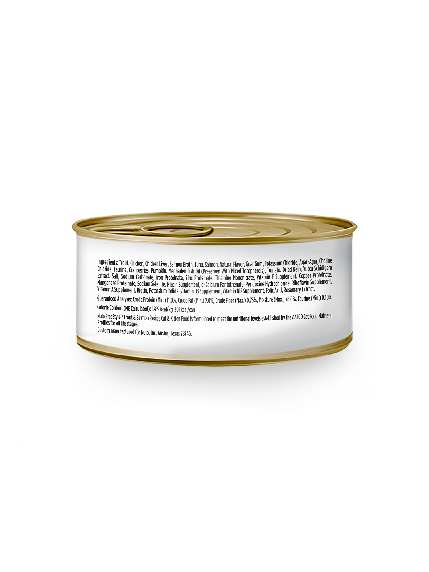 Nulo Nulo Freestyle Trout & Salmon Wet Cat Food 5.5oz