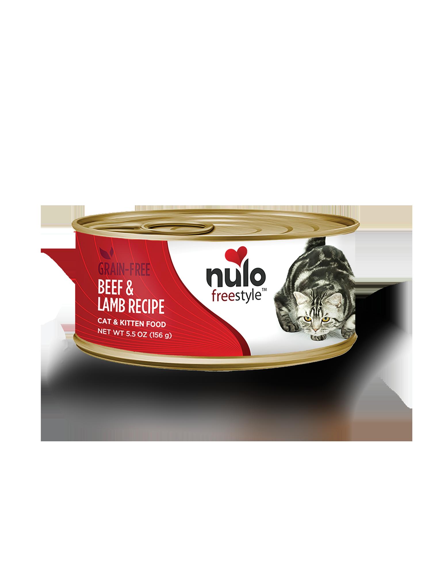 Nulo Nulo Freestyle Beef & Lamb Wet Cat Food 5.5oz