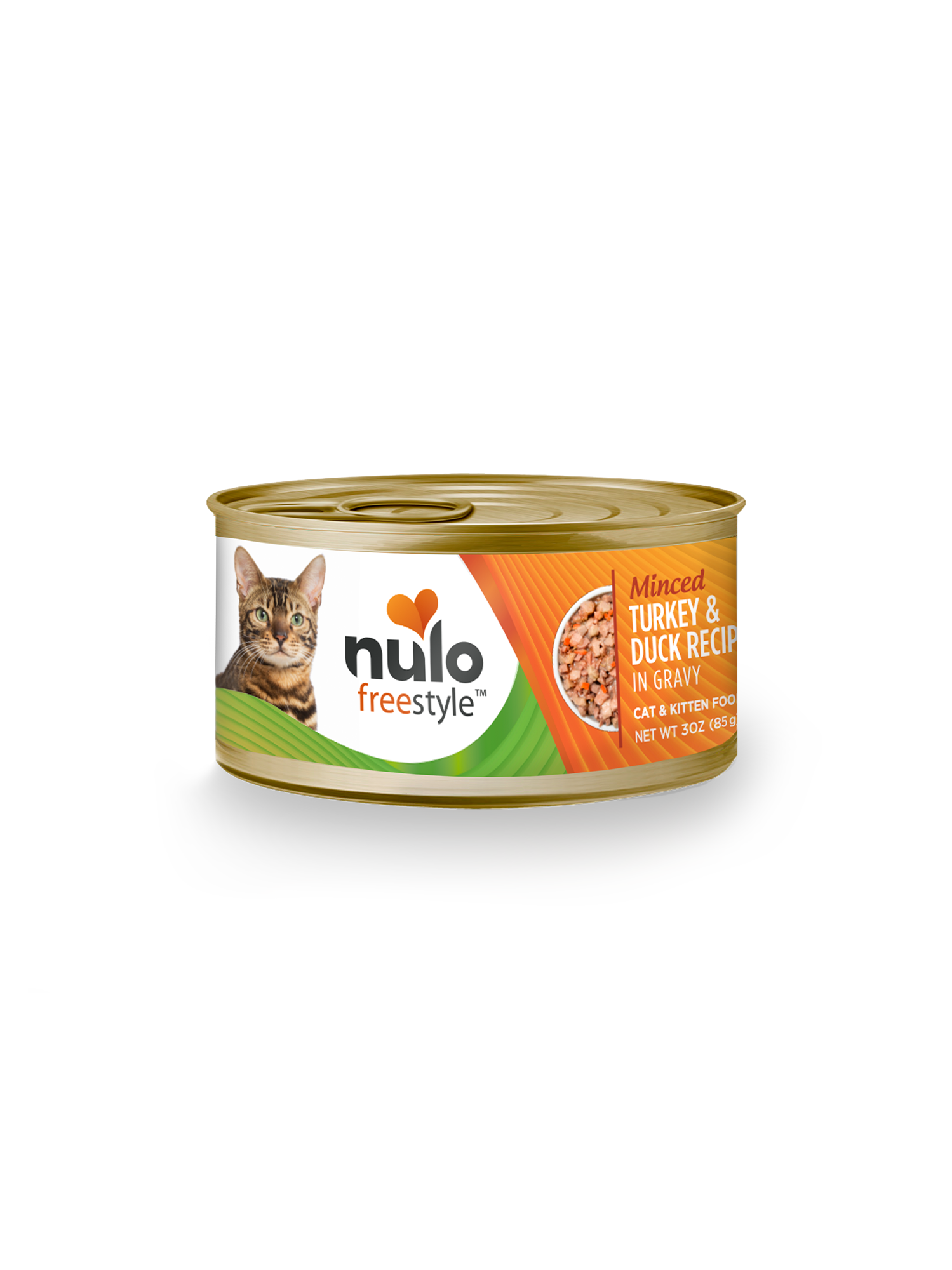 Nulo Nulo Freestyle Minced Turkey & Duck Wet Cat Food 3oz