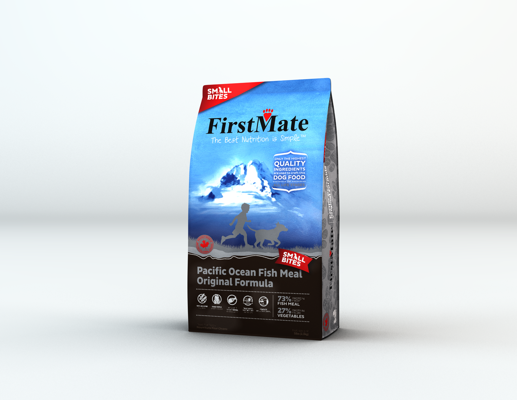 FirstMate FirstMate Limited Ingredient Diet Small Breed Pacific Ocean Fish Dry Dog Food