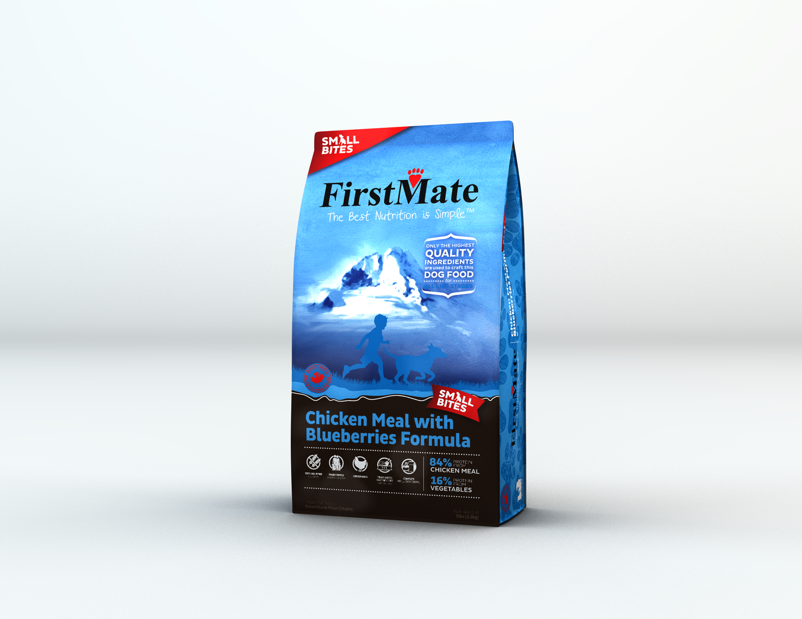 FirstMate FirstMate Limited Ingredient Diet Small Breed Chicken & Blueberries Dry Dog Food