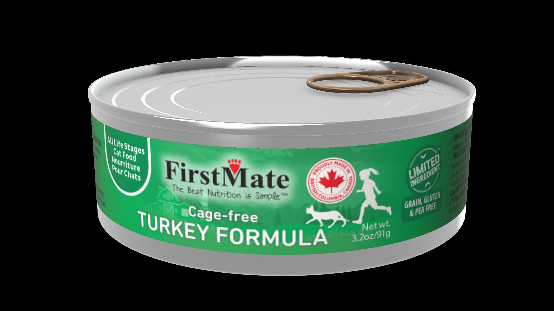FirstMate FirstMate Limited Ingredient Diet Free Run Turkey Wet Cat Food