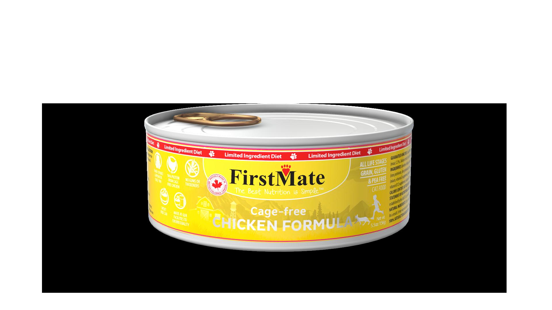 FirstMate FirstMate Limited Ingredient Diet Free Run Chicken Wet Cat Food