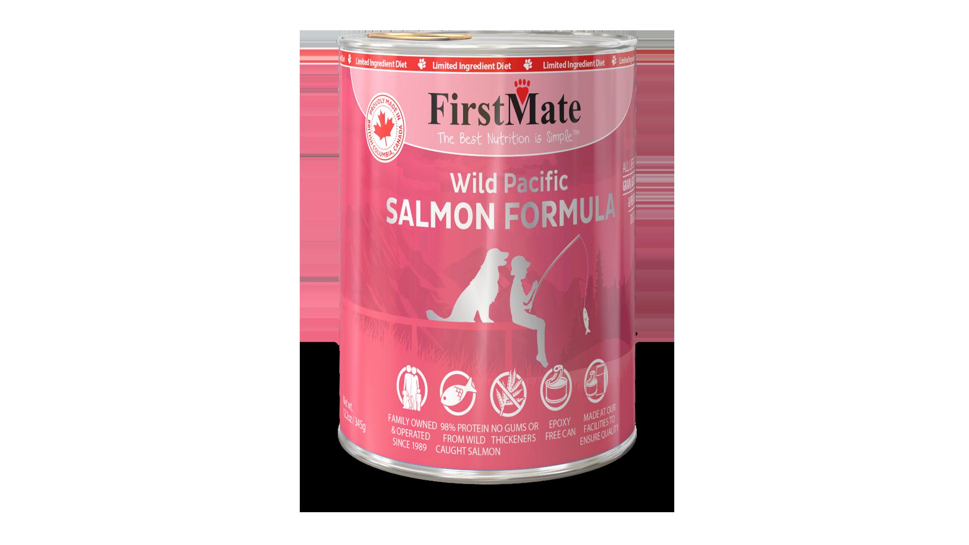 FirstMate FirstMate Limited Ingredient Diet Wild Salmon Wet Dog Food 12.2oz