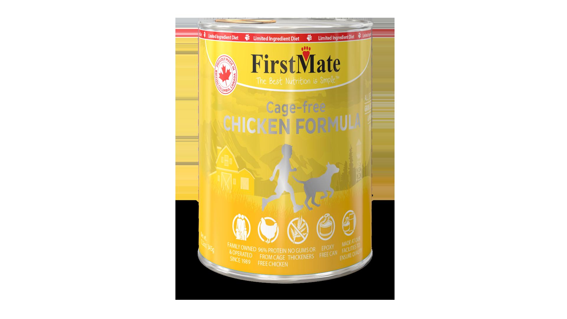 FirstMate FirstMate Limited Ingredient Diet Free Run Chicken Wet Dog Food 12.2oz