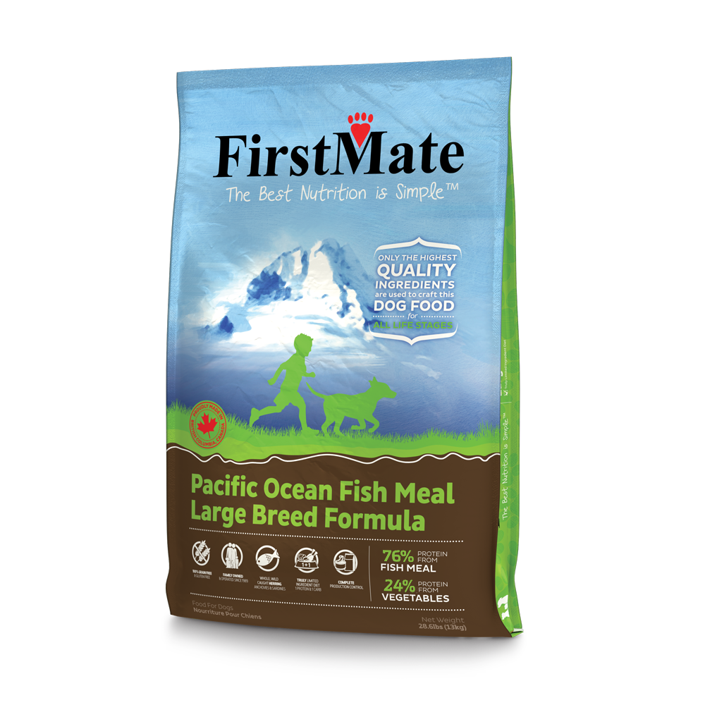 FirstMate FirstMate Limited Ingredient Diet Large Breed Pacific Ocean Fish Dry Dog Food 28.6#