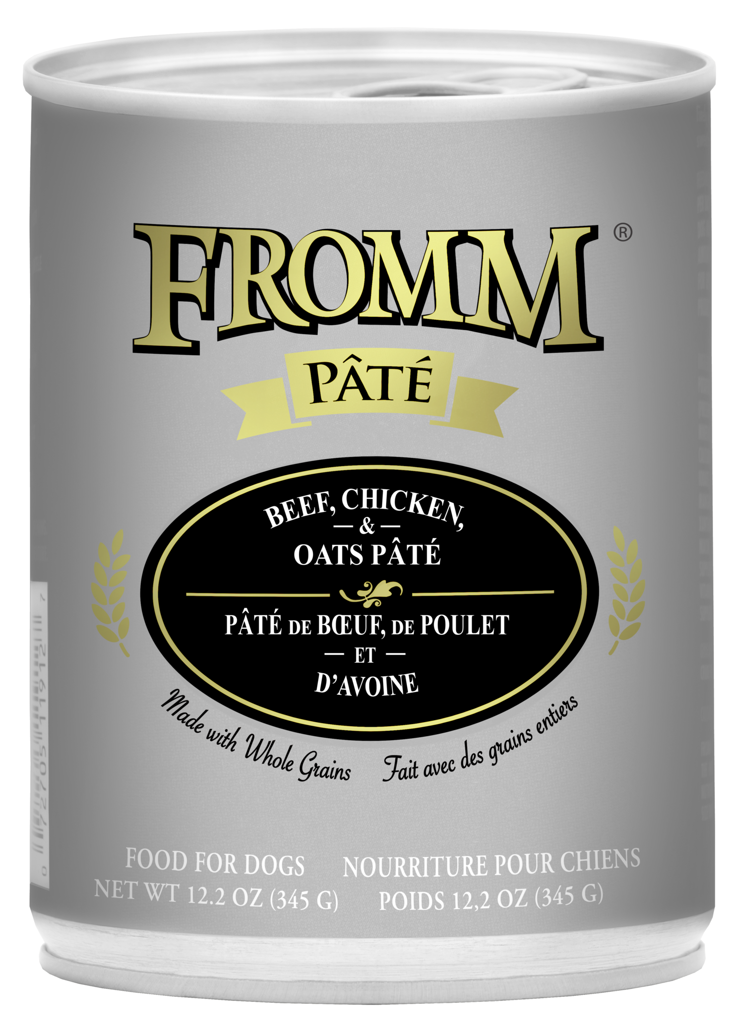 Fromm Fromm Gold Beef, Chicken & Oats Pate Wet Dog Food 12.2oz