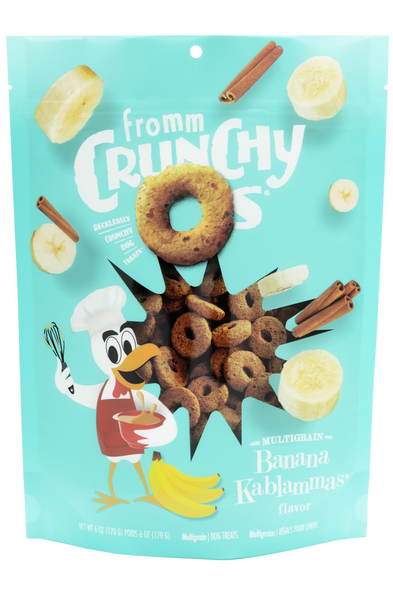 Fromm Fromm Crunchy-O's Banana Kablammas Dog Treat 6oz