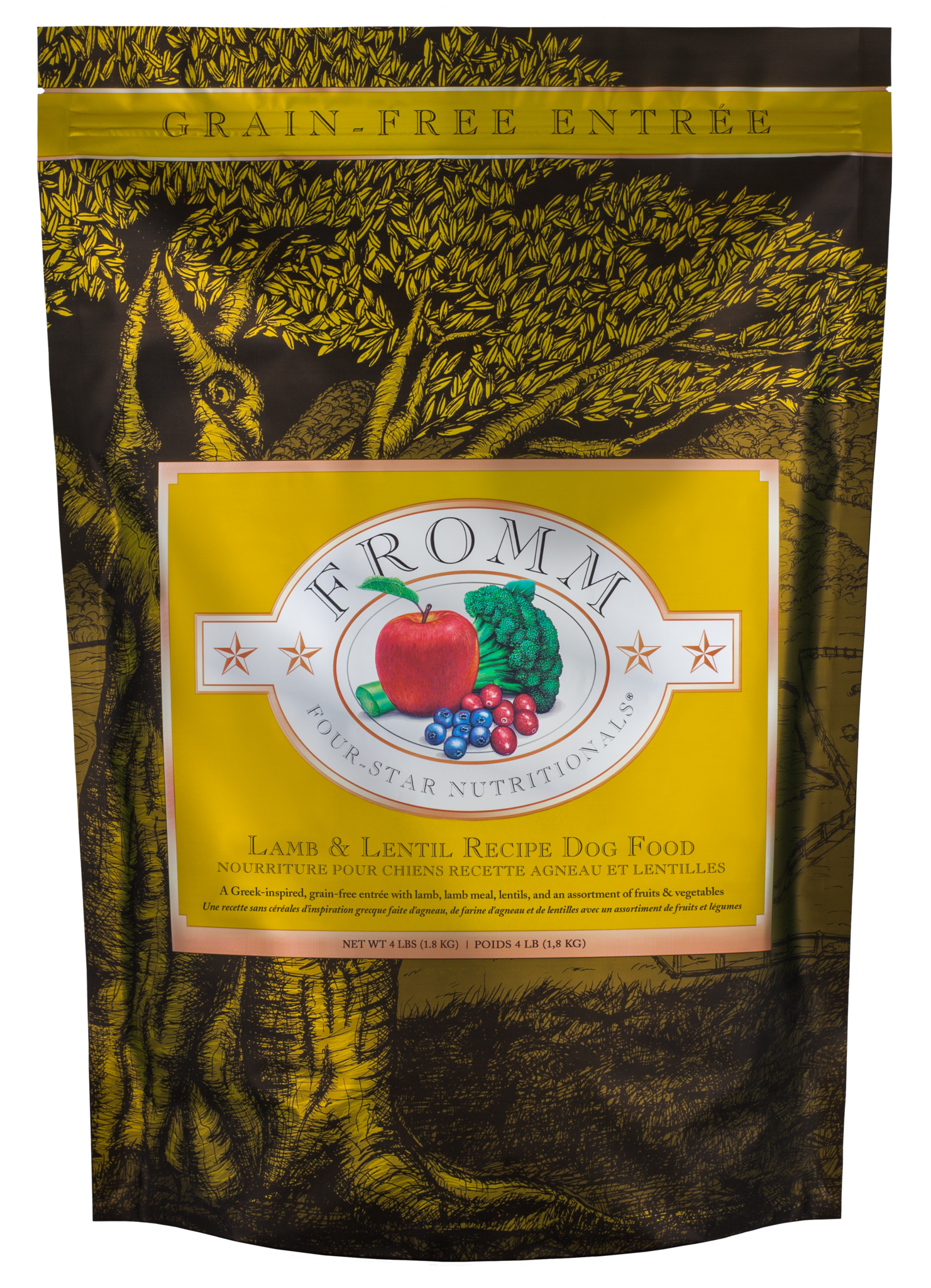 Fromm Fromm Four Star Lamb & Lentil Dry Dog Food