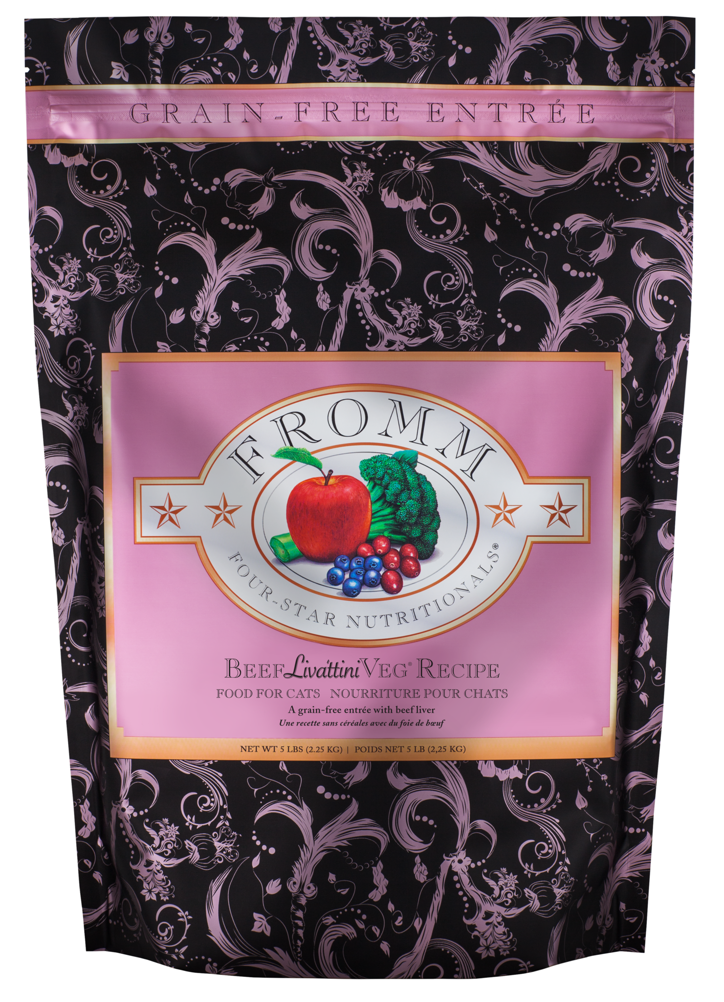 Fromm Fromm Four Star Beef Livattini Veg Dry Cat Food