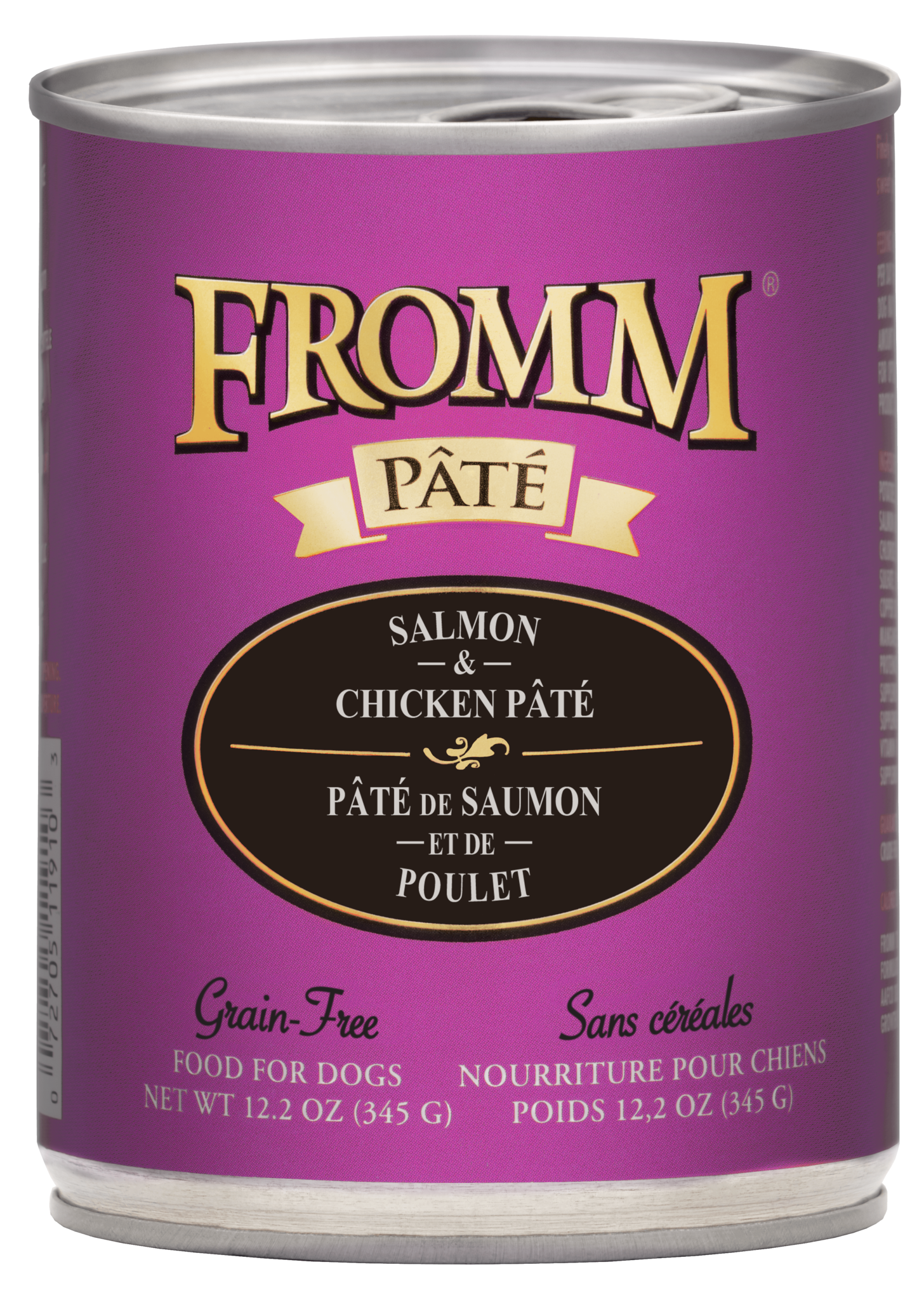 Fromm Fromm Gold Salmon & Chicken Pate Wet Dog Food 12.2oz