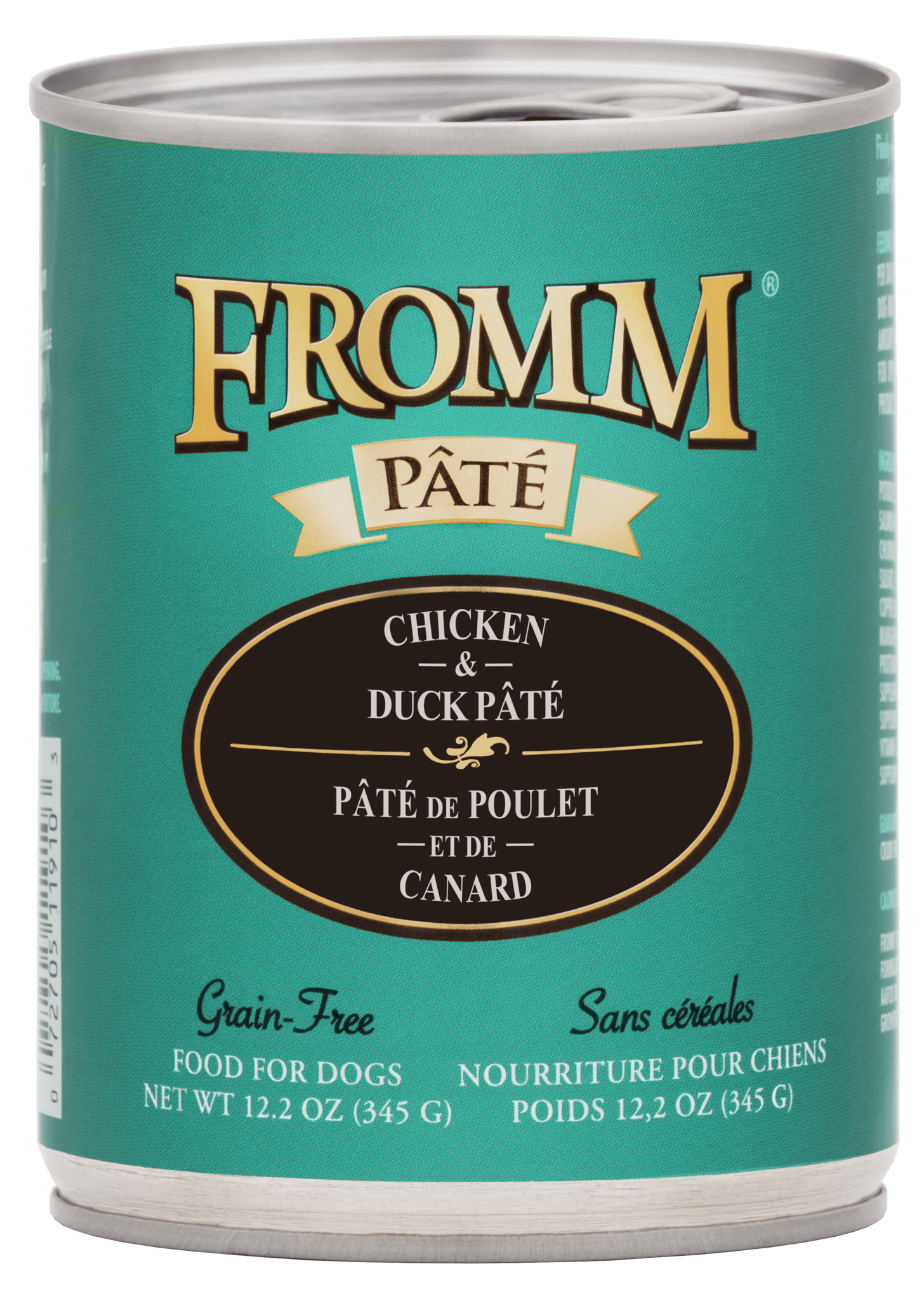 Fromm Fromm Gold Chicken & Duck Pate Wet Dog Food 12.2oz