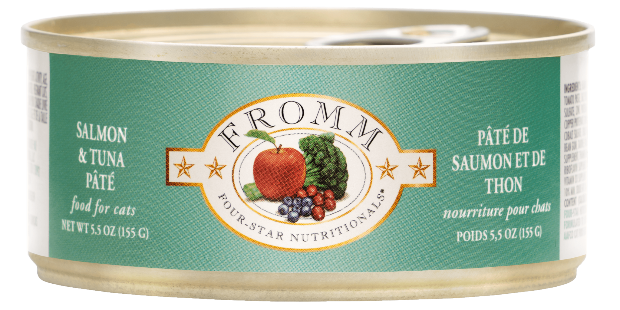 Fromm Fromm Four Star Salmon & Tuna Pate Wet Cat Food 5.5oz