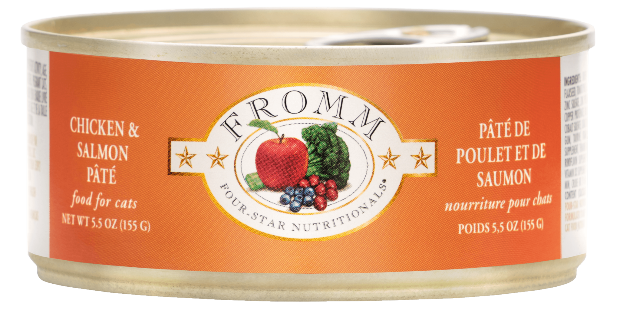 Fromm Fromm Four Star Chicken & Salmon Pate Wet Cat Food 5.5oz