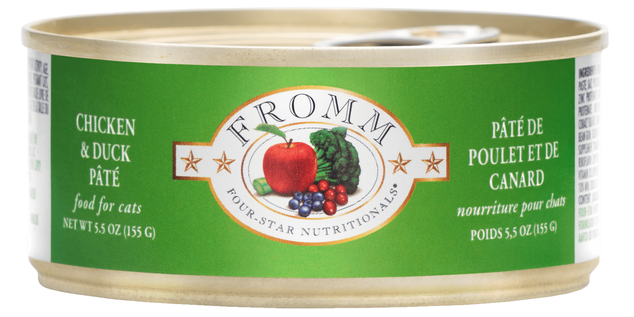 Fromm Fromm Four Star Chicken & Duck Pate Wet Cat Food 5.5oz