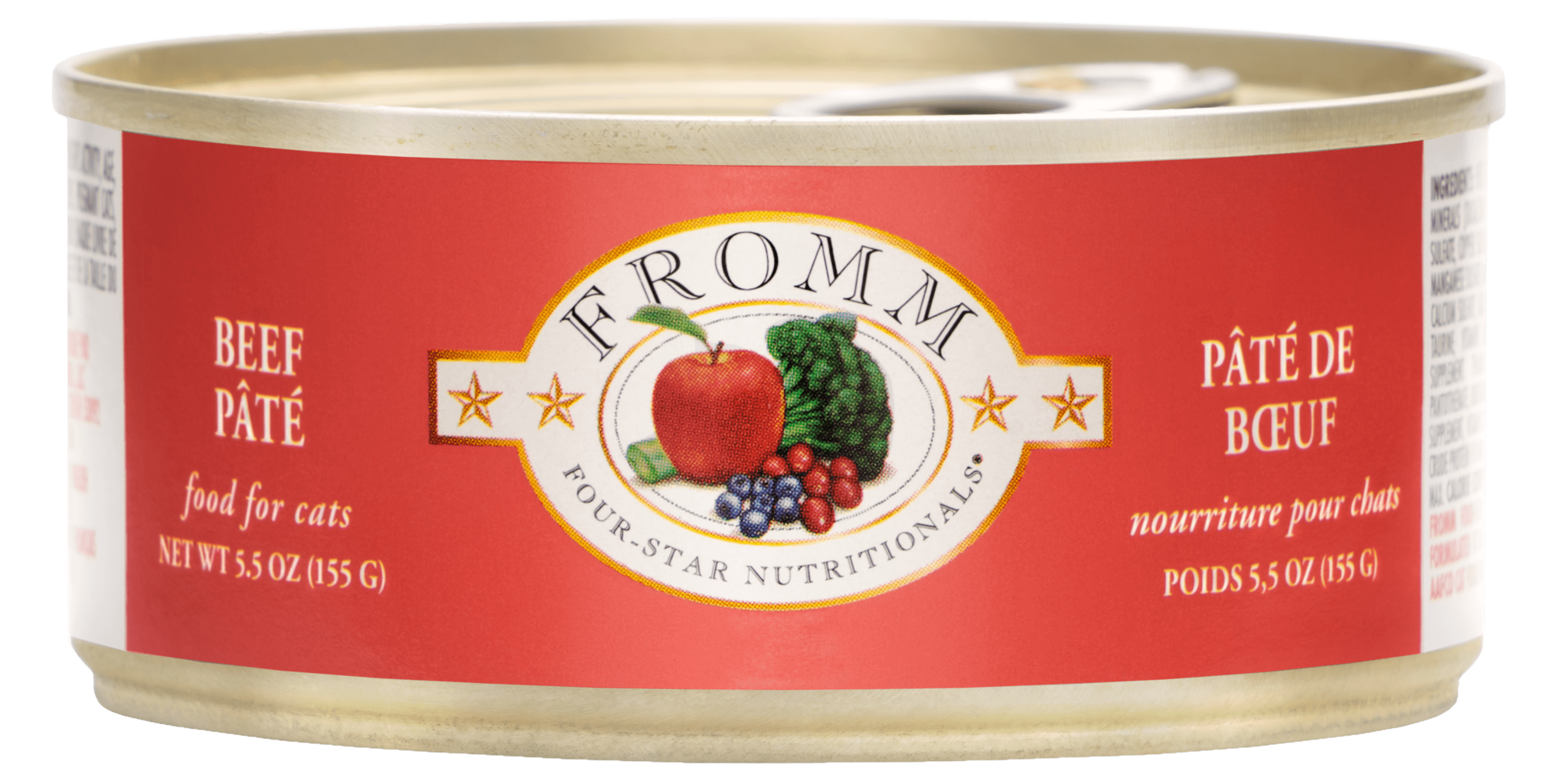 Fromm Fromm Four Star Beef Pate Wet Cat Food 5.5oz