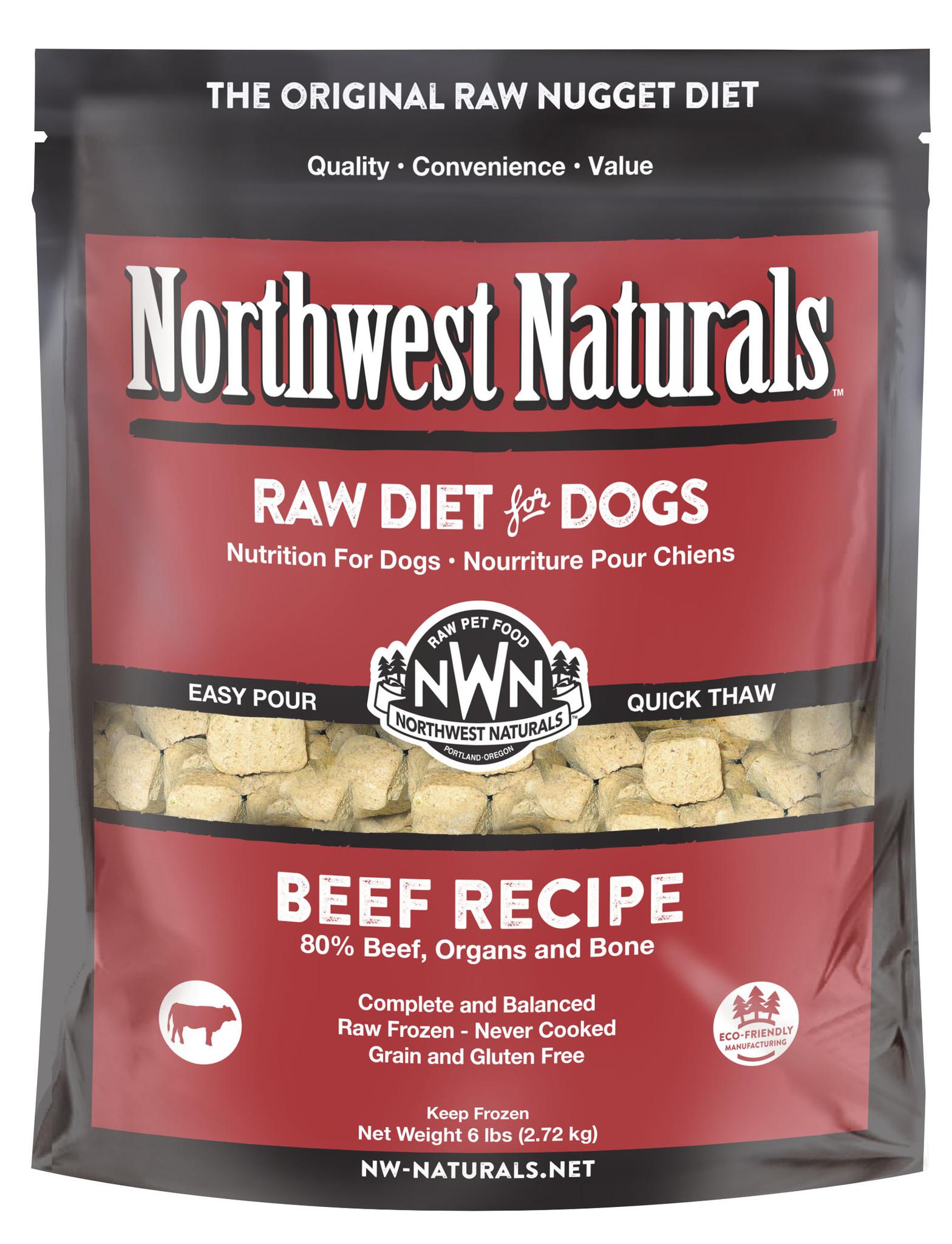 Northwest Naturals Northwest Naturals Beef Raw Dog Food