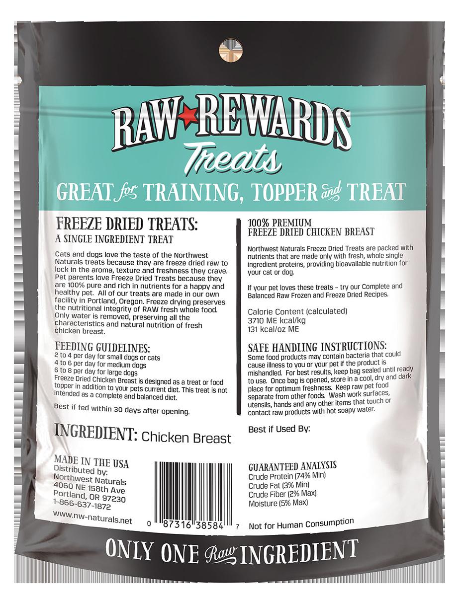 Northwest Naturals Northwest Naturals Raw Rewards Freeze Dried Chicken Breast Cat & Dog Treat