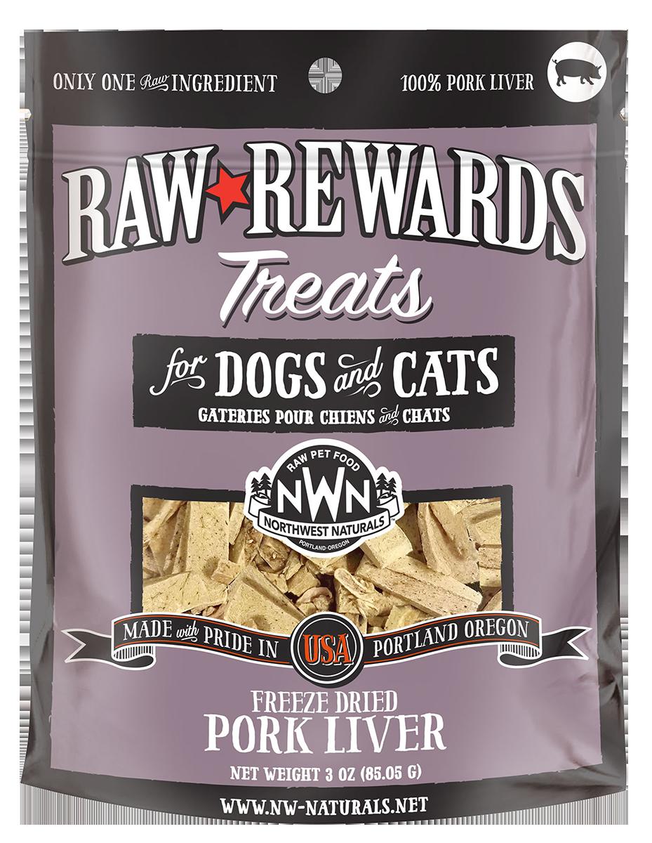 Northwest Naturals Northwest Naturals Raw Rewards Freeze Dried Pork Liver Cat & Dog Treat