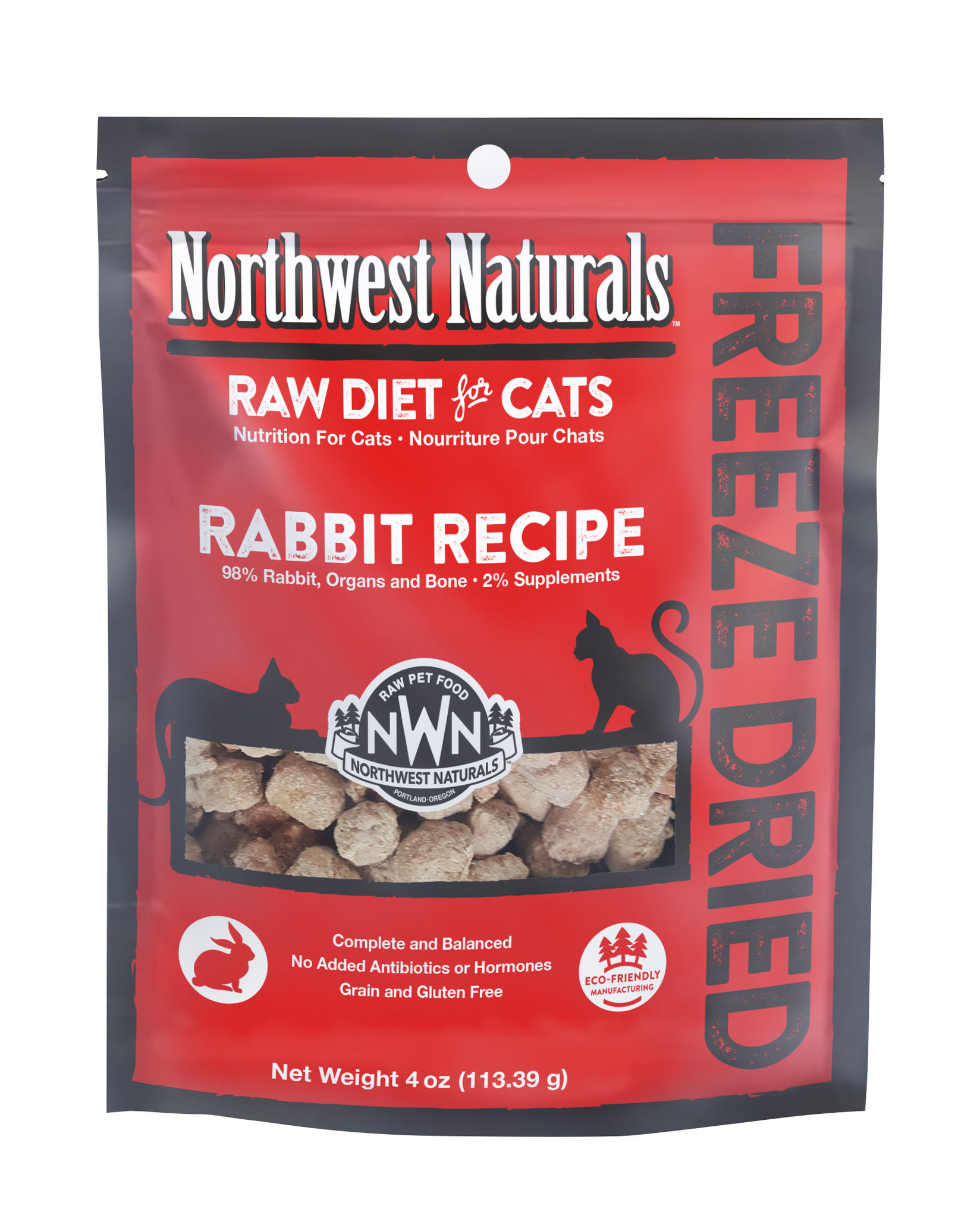 Northwest Naturals Northwest Naturals Nibbles Rabbit Freeze Dried Cat Food