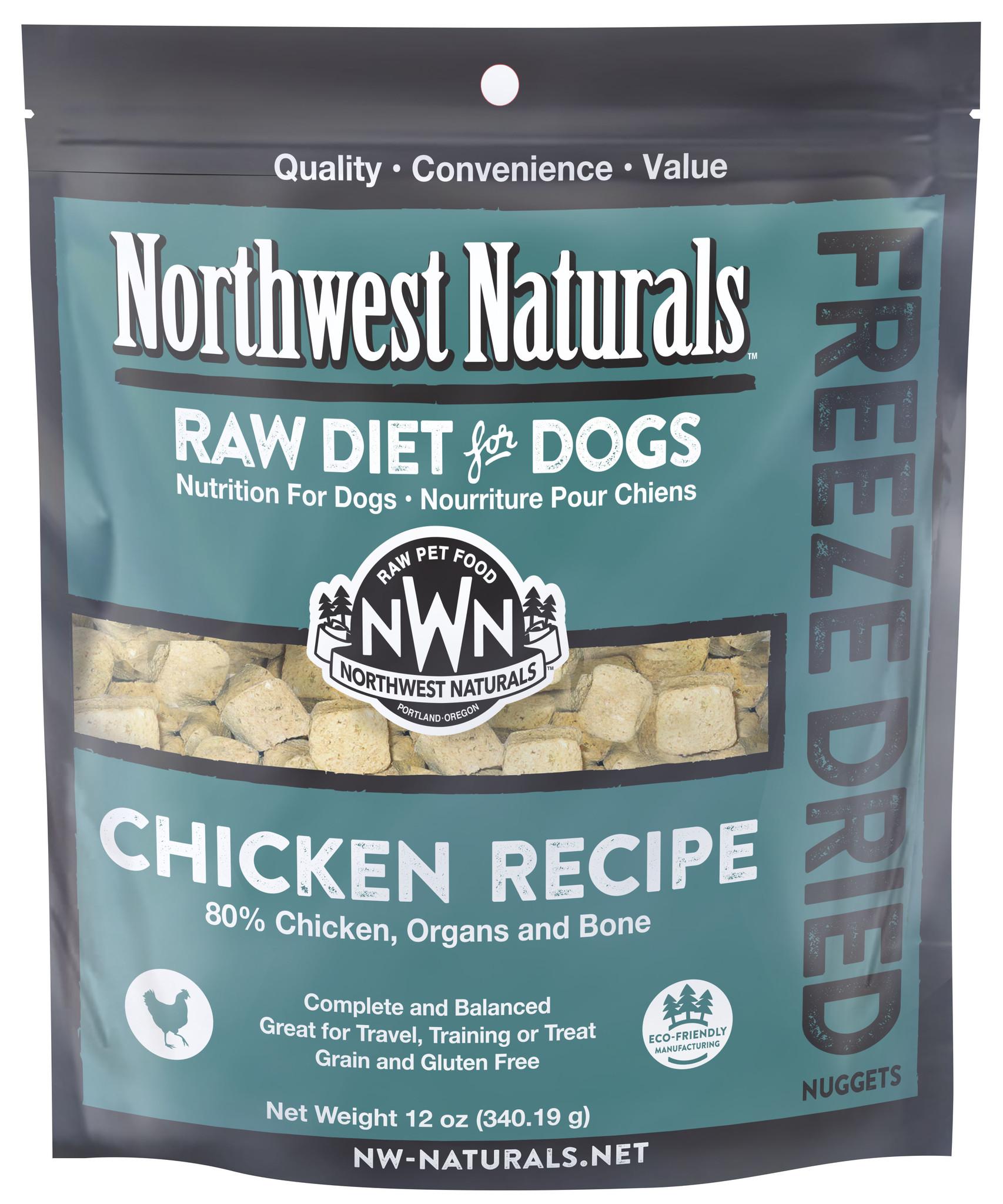 Northwest Naturals Northwest Naturals Freeze Dried Nuggets Chicken Dog Food 12oz