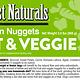 Northwest Naturals Northwest Naturals Nuggets Fruit & Veggie Raw Dog Food 2#