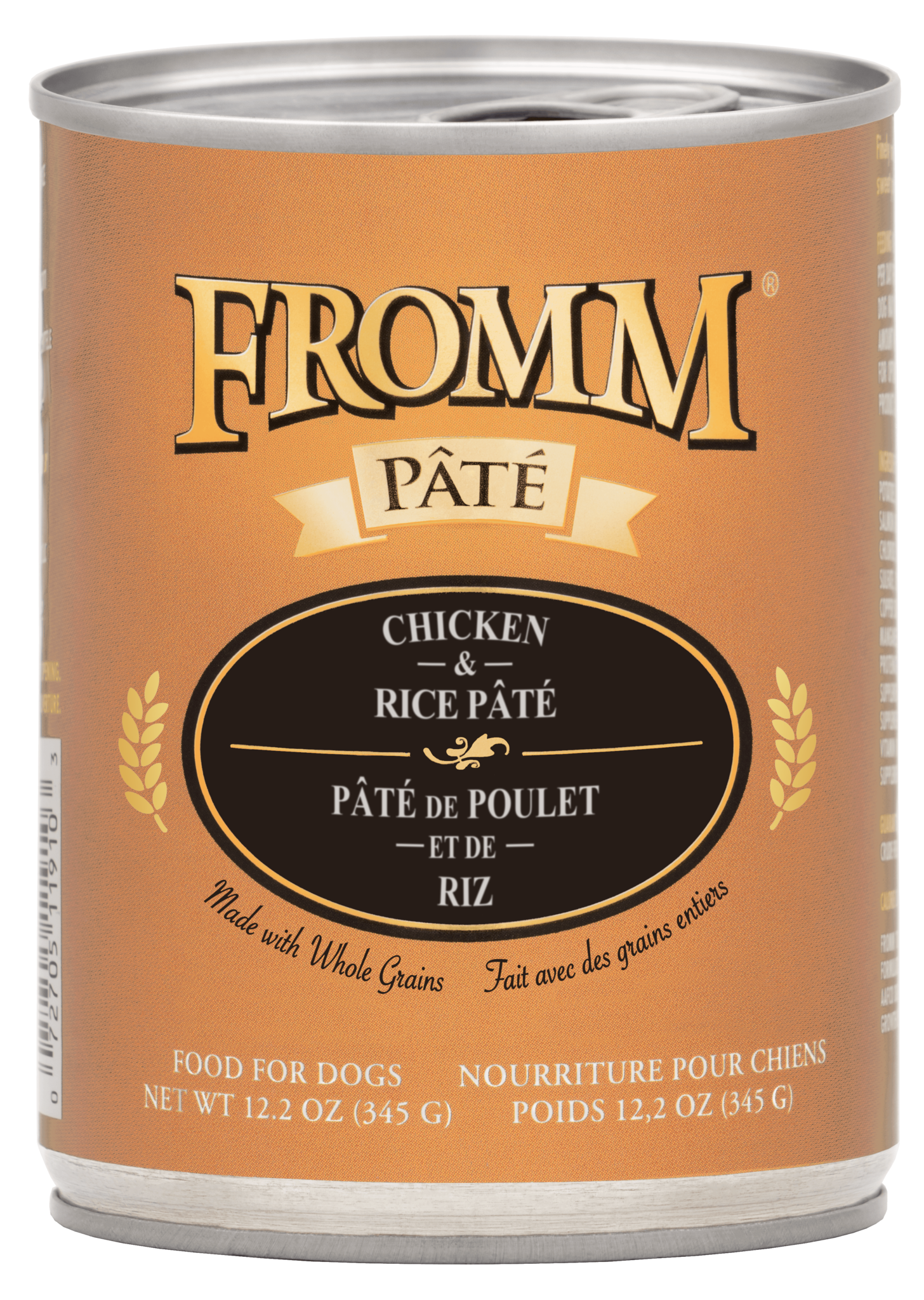 Fromm Fromm Gold Chicken & Rice Pate Wet Dog Food 12.2oz