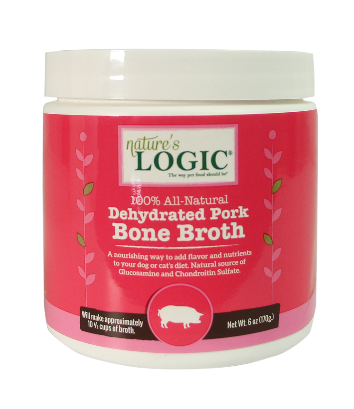 Nature's Logic Nature's Logic Dehydrated Bone Broth Pork 6oz