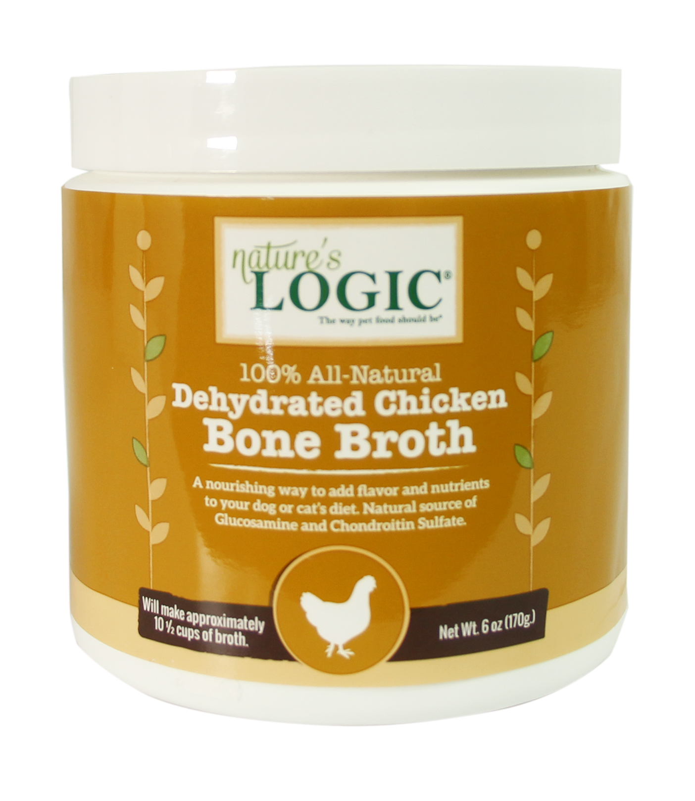 Nature's Logic Nature's Logic Dehydrated Bone Broth Chicken 6oz