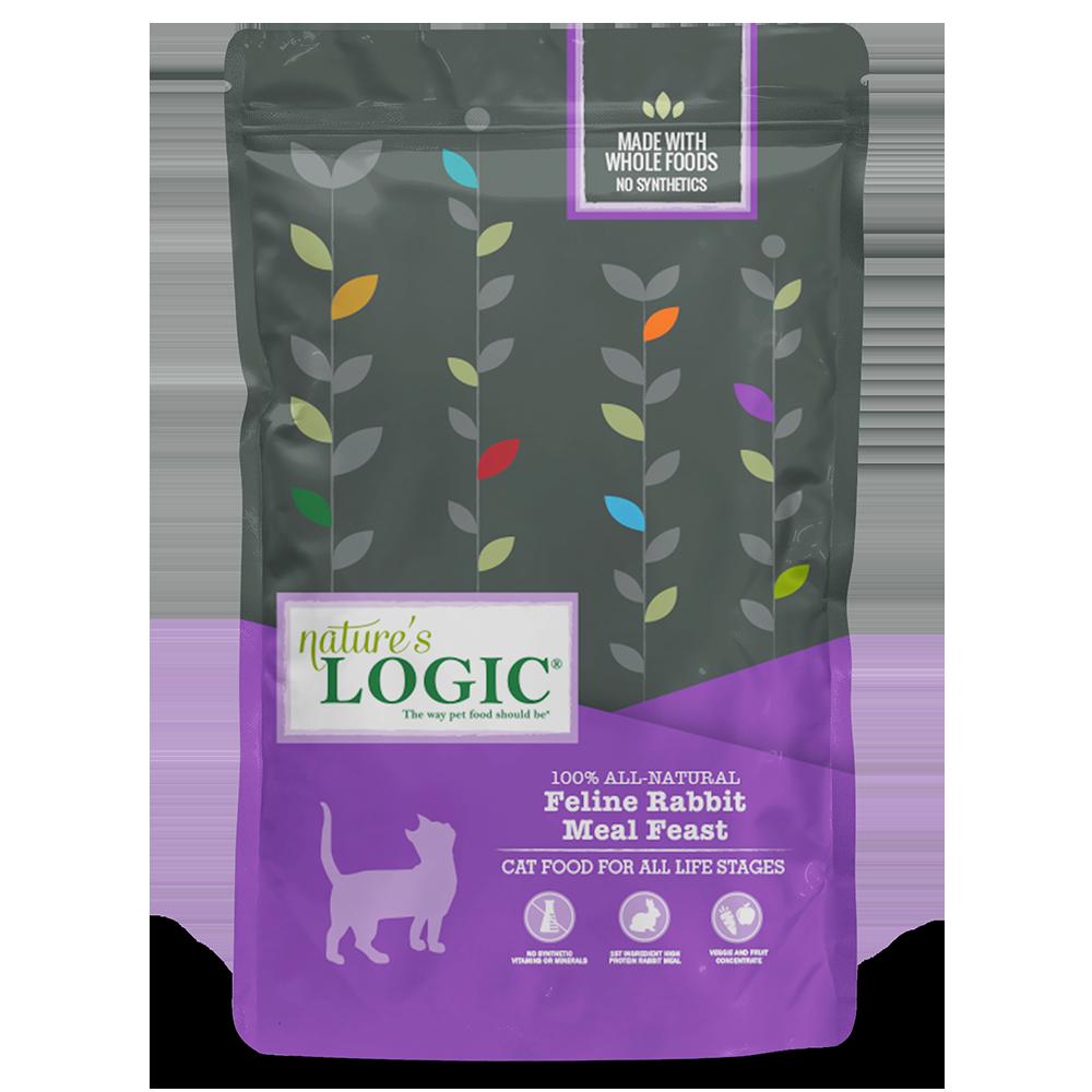 Nature's Logic Nature's Logic Rabbit Dry Cat Food