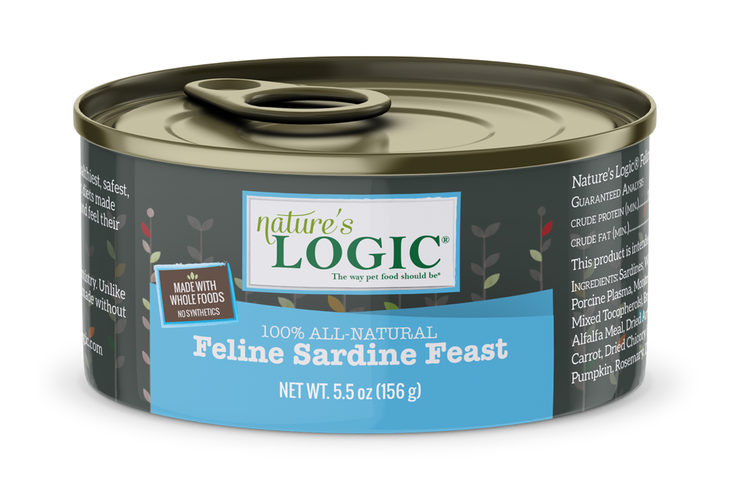 Nature's Logic Nature's Logic Sardine Wet Cat Food 5.5oz