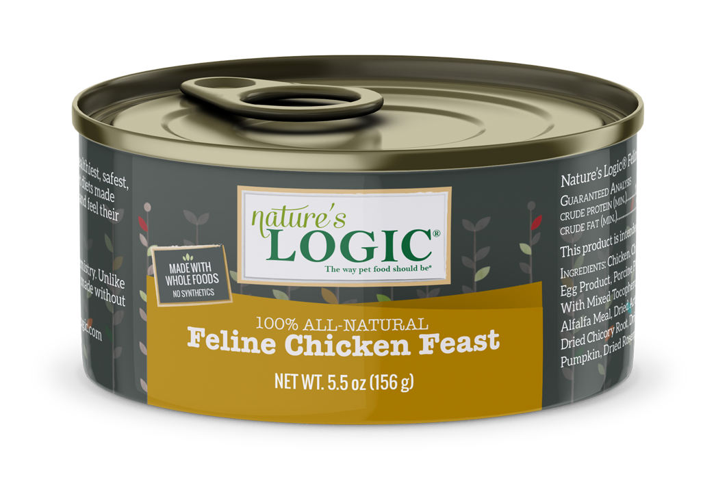 Nature's Logic Nature's Logic Chicken Wet Cat Food 5.5oz