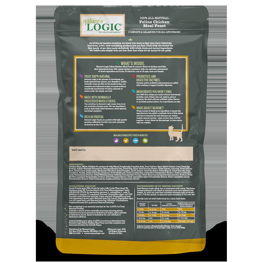 Nature's Logic Nature's Logic Chicken Dry Cat Food