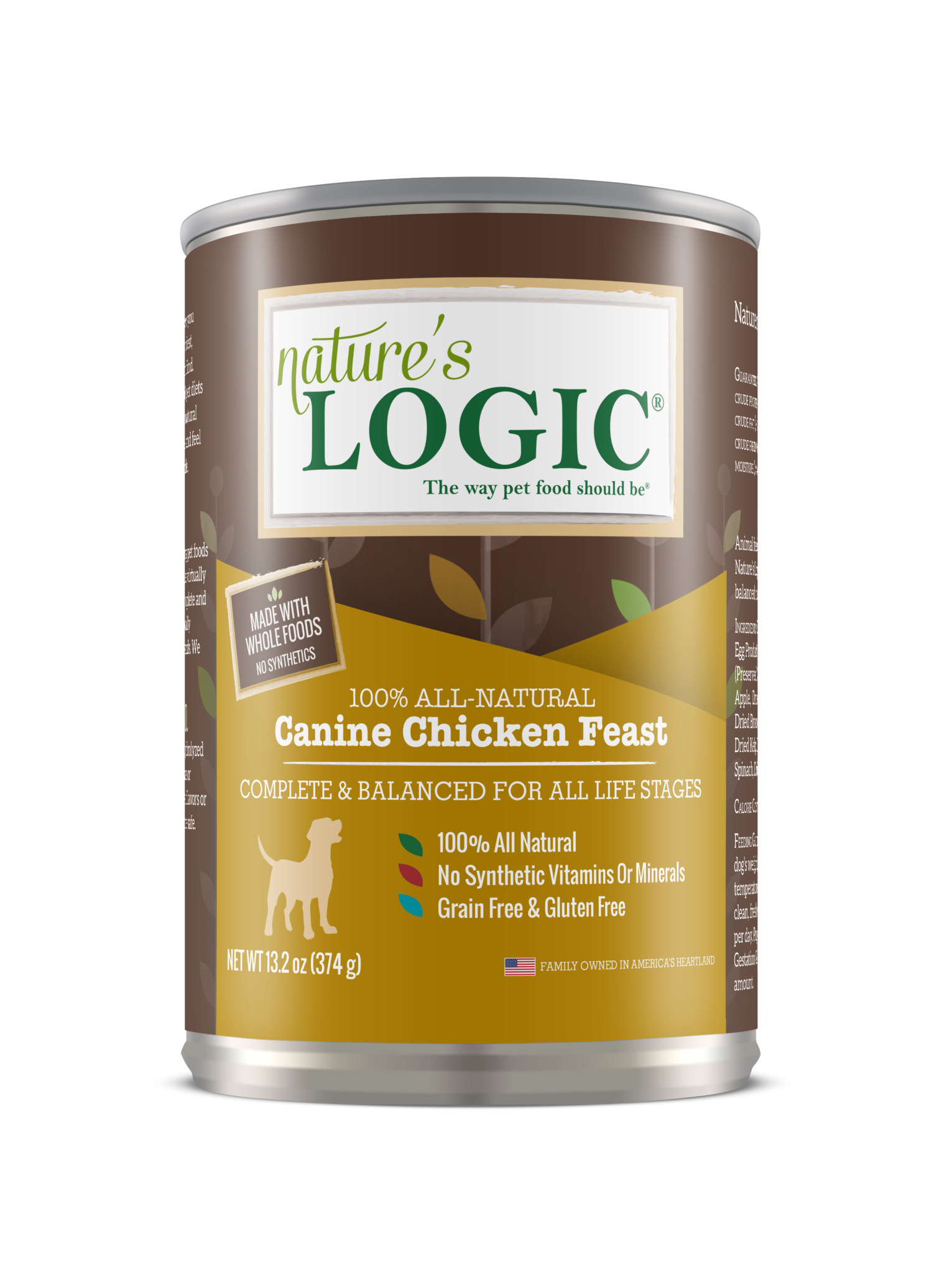 Nature's Logic Nature's Logic Chicken Wet Dog Food 13.2oz
