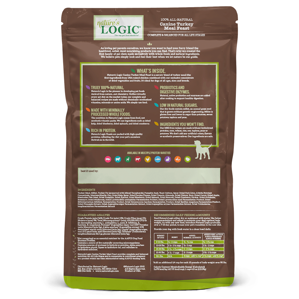 Nature's Logic Nature's Logic Turkey Dry Dog Food