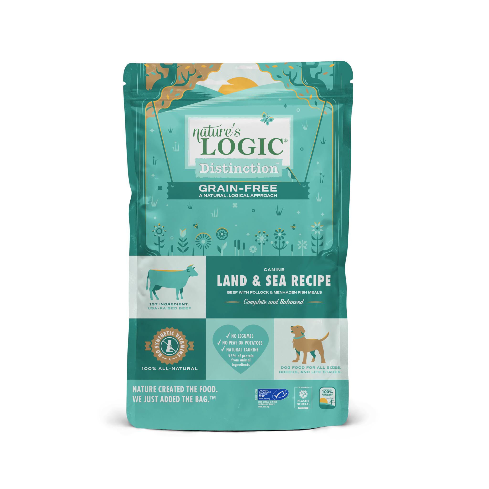Nature's Logic Nature's Logic Distinction Grain Free Land & Sea Recipe Dry Dog Food