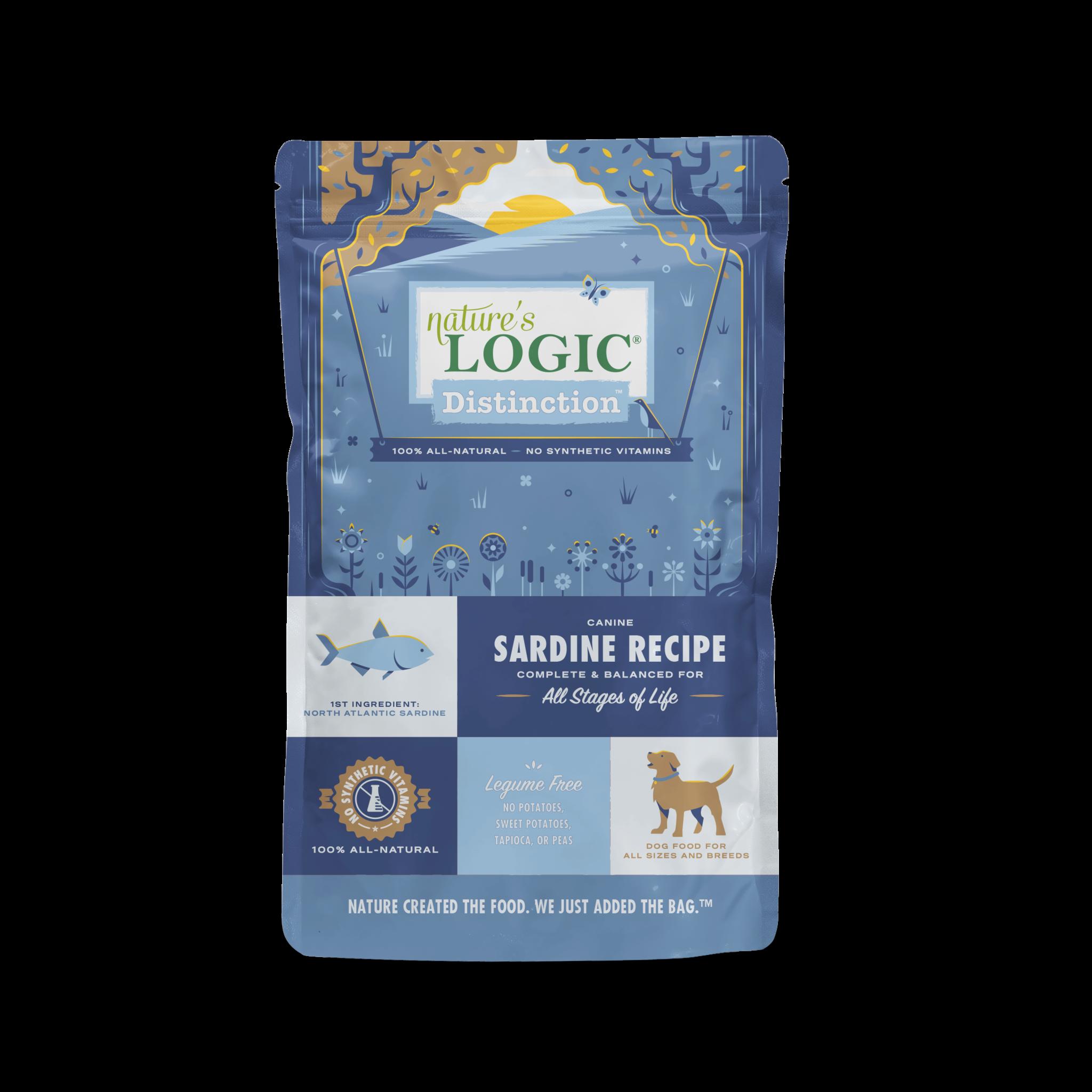 Nature's Logic Nature's Logic Distinction Sardine Dry Dog Food