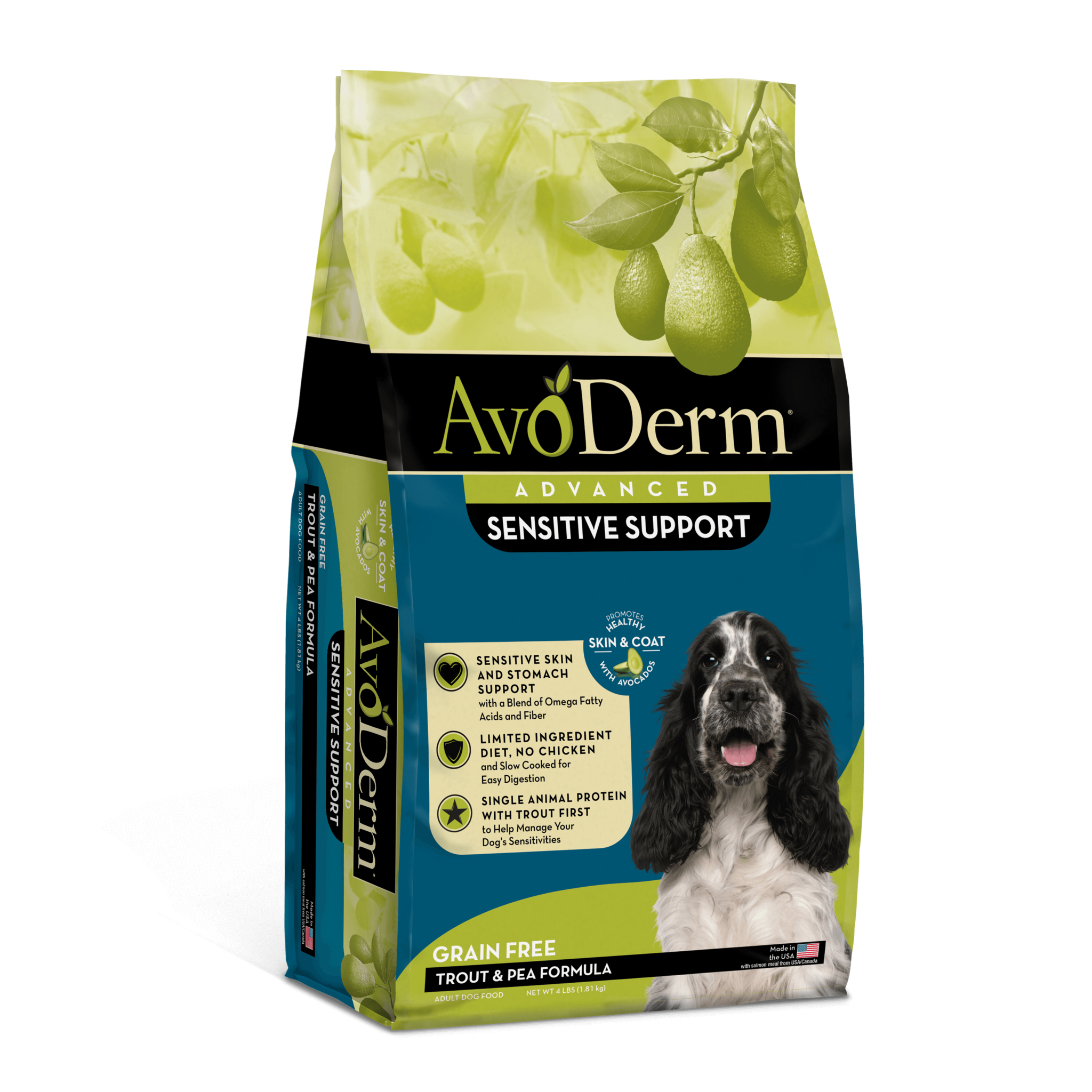 AvoDerm AvoDerm Sensitive Support Trout & Pea Dry Dog Food